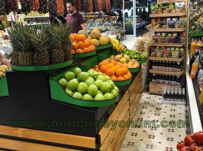Obst und Gemüse Regal 02